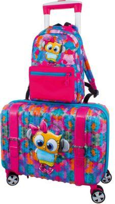 Дорожный набор: Чемодан и рюкзак DeLune  Сова , артикул:8861818 - Путешествия