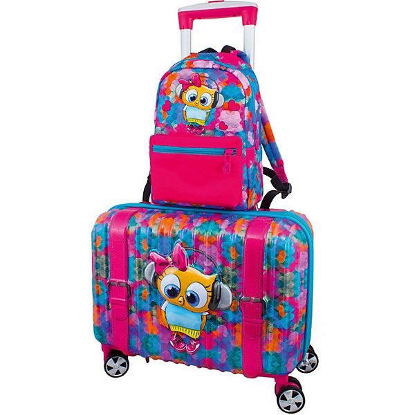 DeLune Дорожный набор DeLune Сова: чемодан и рюкзак