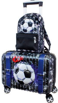 Дорожный набор: Чемодан и рюкзак DeLune  Футбол , артикул:8861824 - Путешествия