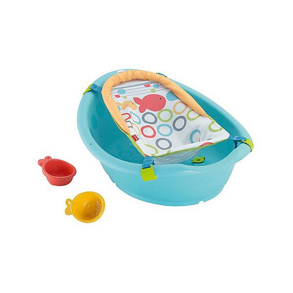 Mattel Детская ванночка Fisher Price Купаемся и растем ванночка пластик центр ангел 84см детская с термометром голубой la4102глп 1p