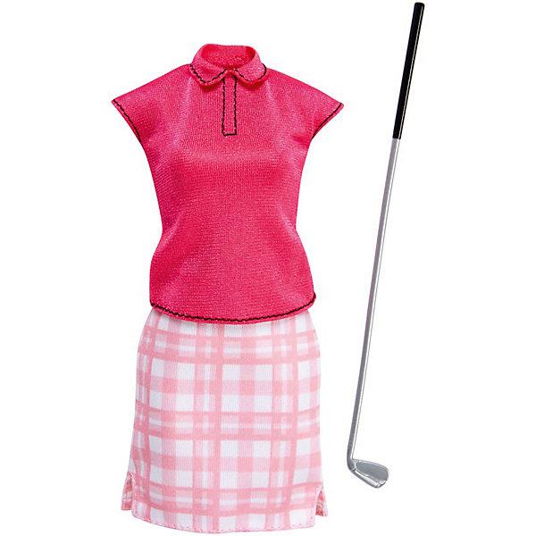 Mattel Одежда для куклы Barbie Кем быть? Игрок в гольф mattel barbie dmb27 барби сестра barbie с питомцем