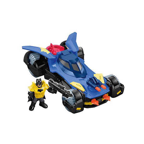Mattel Машинка с героем DC Super Heroes Бэтмобиль dc super friends flying high