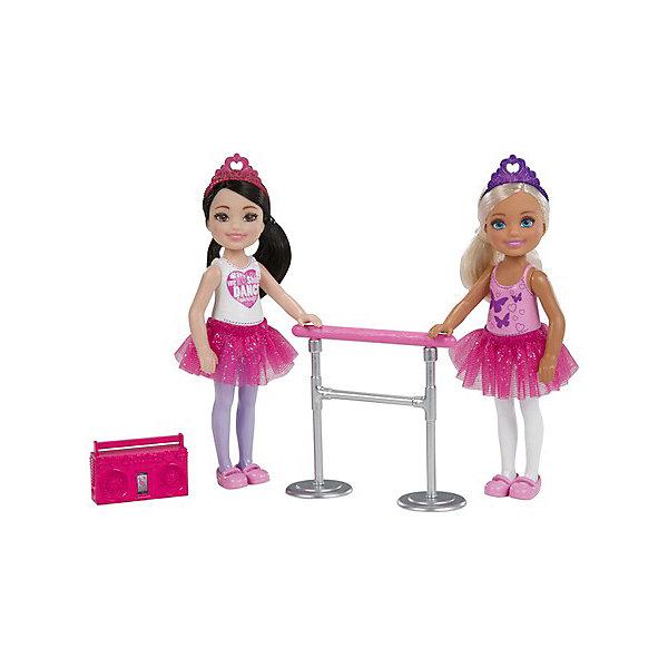 купить Mattel Набор кукол Barbie Челси балерины дешево