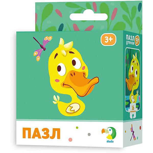 Dodo Пазл Dodo Утёнок, 16 элементов пазл для малышей dodo 4в1 времена года