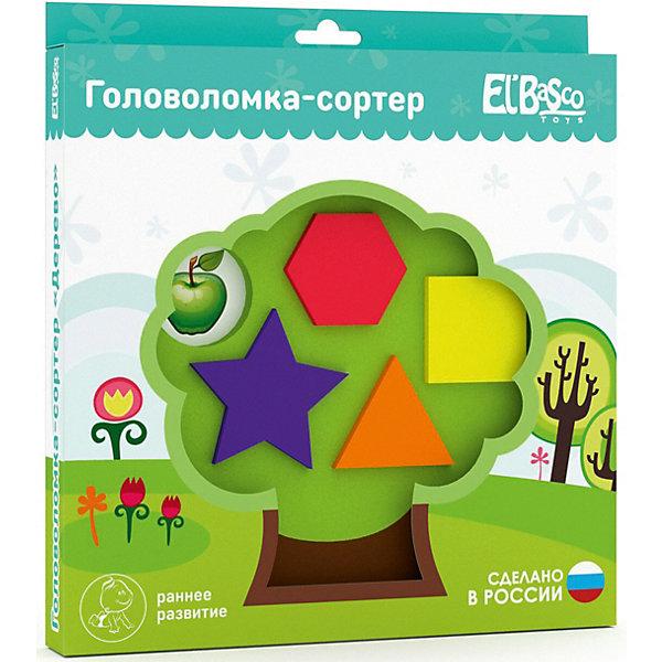 El`Basco Toys Головоломка-сортер El`Basco Toys Дерево головоломка recent toys bronco rt12