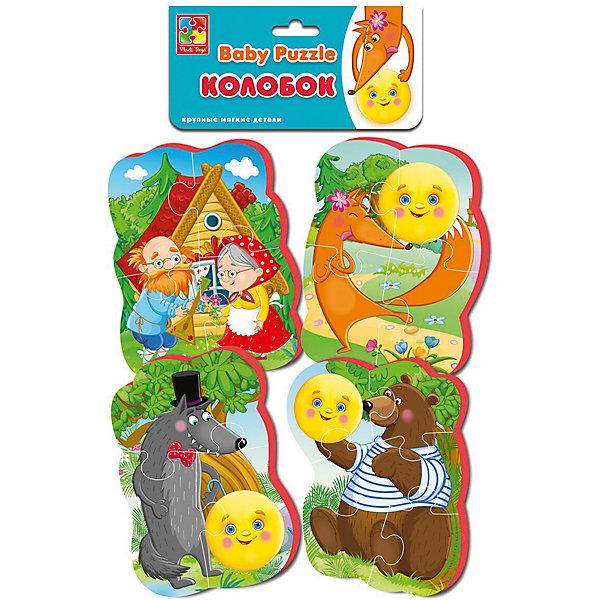Vladi Toys Мягкие пазлы Vladi Toys