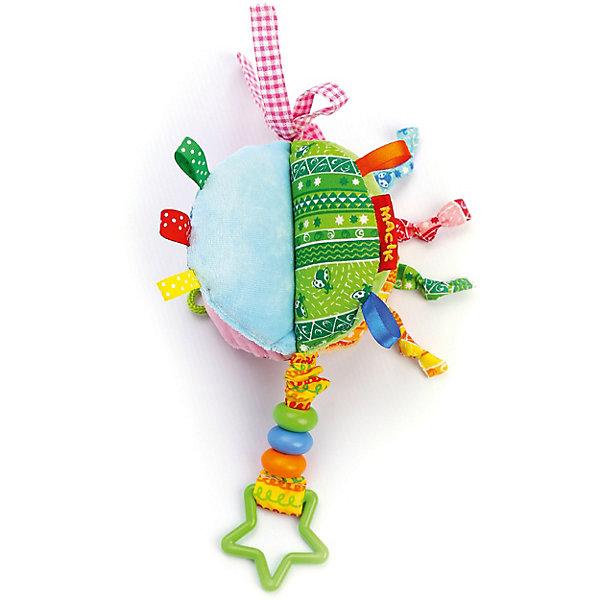 Macik Игрушка-подвеска Macik Сегмент с бусинками macik погремушка птичка с колечками