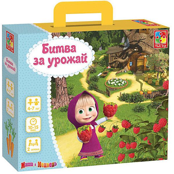 Купить Настольная игра Vladi Toys Маша и Медведь Битва за урожай, Украина, Унисекс