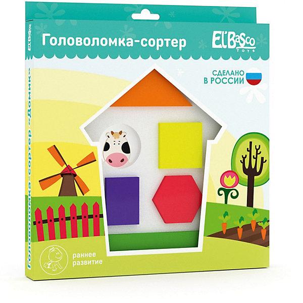 El`Basco Toys Головоломка-сортер El`Basco Toys Домик головоломка recent toys bronco rt12