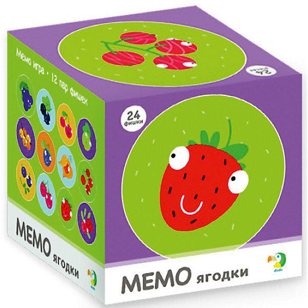 Dodo Настольная игра-мемо Dodo Ягодки, 24 фишки