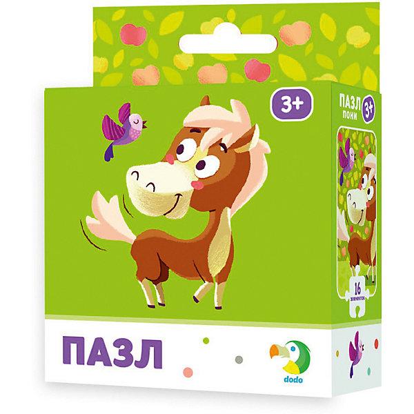 Dodo Пазл Dodo Пони, 16 элементов пазл для малышей dodo 4в1 времена года