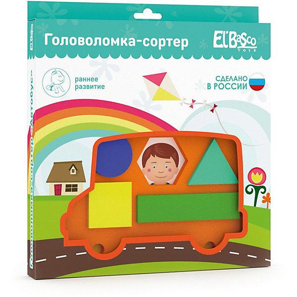El`Basco Toys Головоломка-сортер El`Basco Toys Автобус головоломка recent toys bronco rt12
