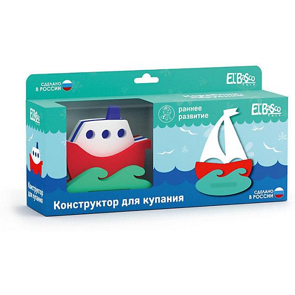 El`Basco Toys Конструктор для купания Кораблик, Парусник
