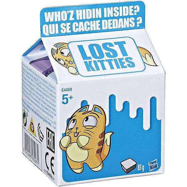 Hasbro Игровой набор Lost Kitties Котенок в молоке, 1 фигурка серии