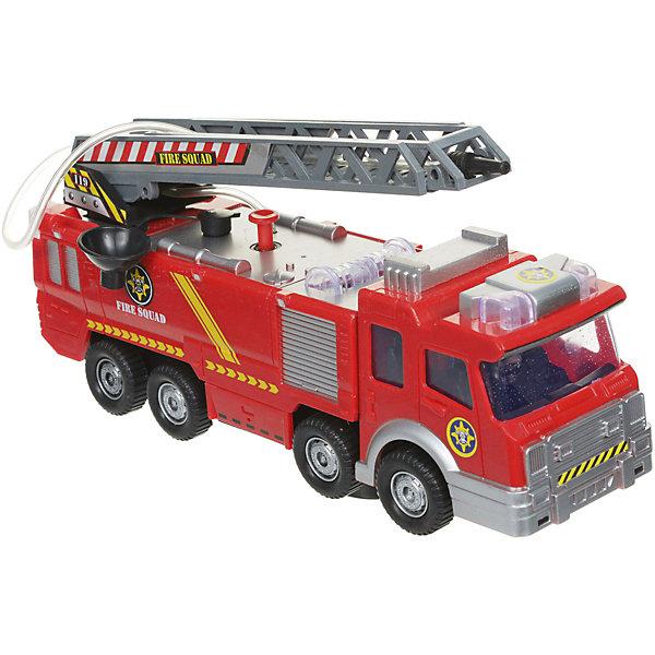 Zhorya Пожарная машина Zhorya с лестницей и водяной пушкой