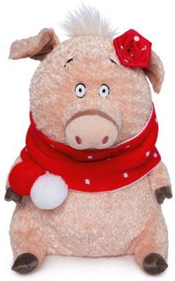 Мягкая игрушка Budi Basa Кабаниха Ненила в красно-белом, артикул:8872463 - Мягкие игрушки