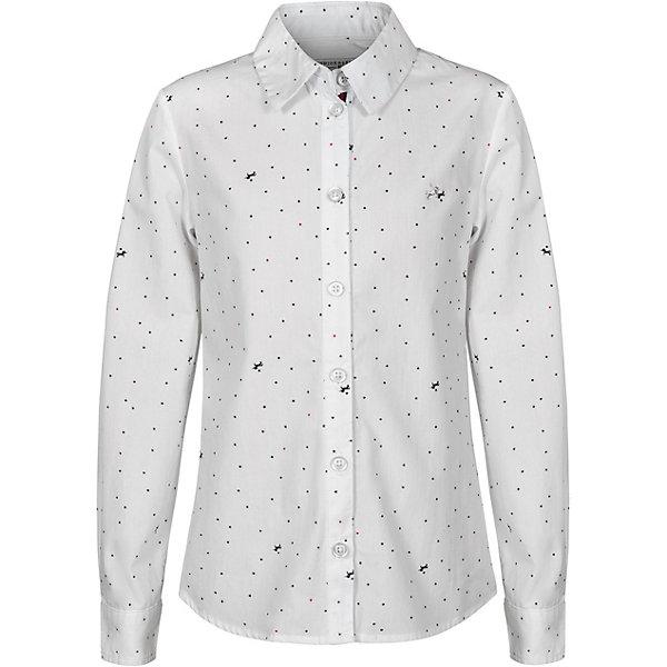 Купить Рубашка Junior Republic для девочки, Китай, разноцветный, 164, 140, 128, 152, 146, 134, 158, 122, 170, Женский