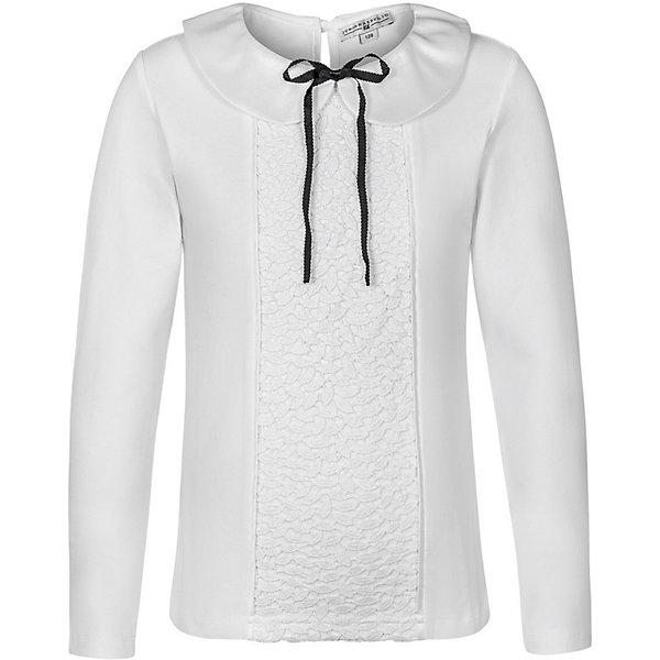 Junior Republic Блуза Junior Republic для девочки junior republic junior republic блузка короткий рукав белая