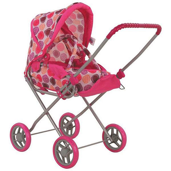 Купить Коляска для кукол Buggy Boom Mixy трансформер, бежево-розовая, Китай, розовый, Женский