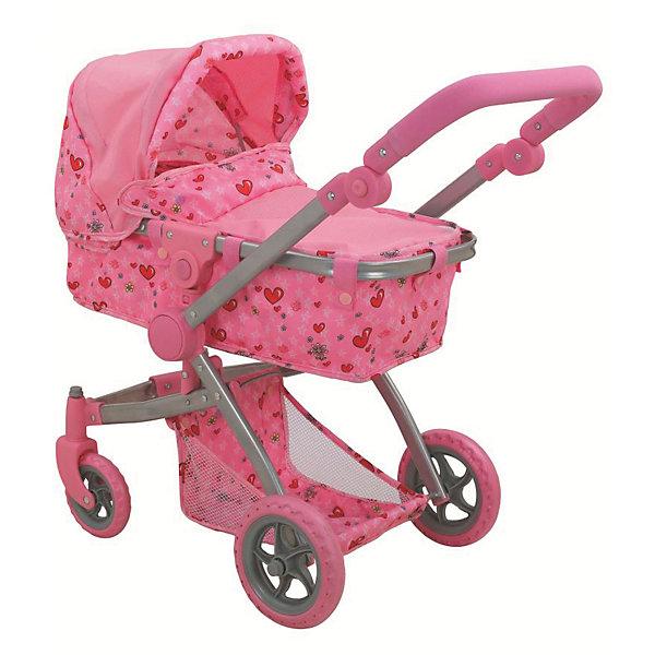 цена на Buggy Boom Коляска для кукол Buggy Boom Amidea трансформер, светло-розовая