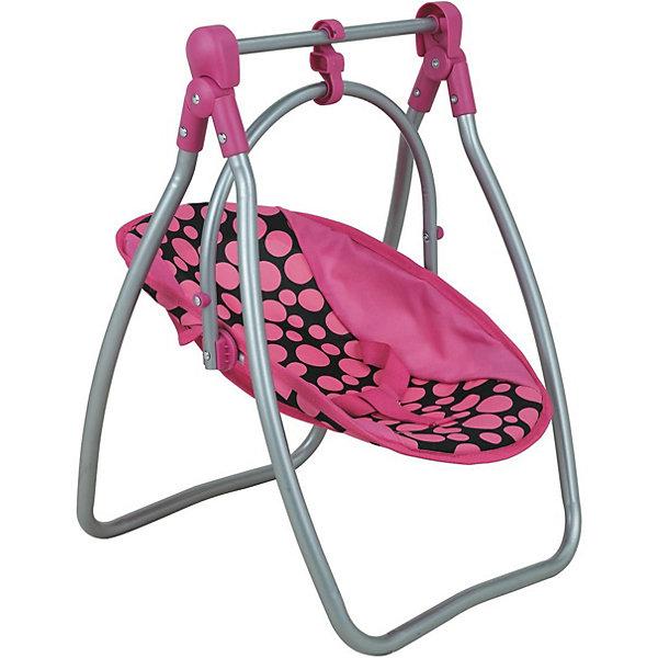 Buggy Boom Стул-качалка трансформер Buggy Boom Loona, розовая ролевые игры buggy boom кукольный стул для кормления loona 8775