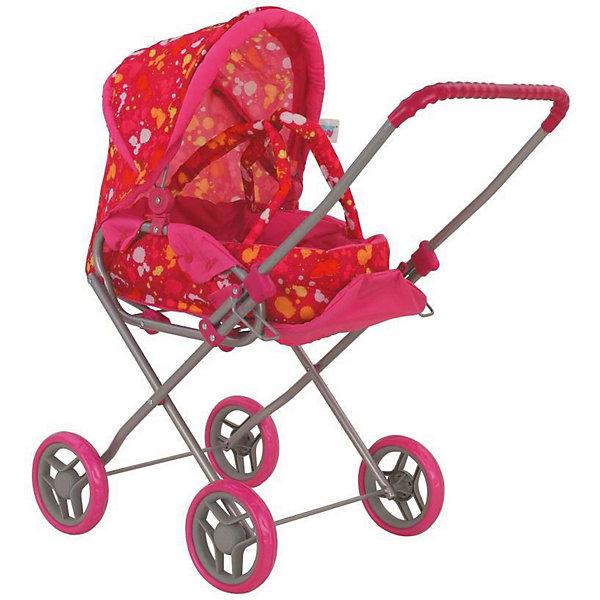 Коляска для кукол Buggy Boom Mixy трансформер, розово-желтаяТранспорт и коляски для кукол<br>Характеристики товара: <br><br>• возраст: от 3 лет;<br>• пол: для девочек;<br>• комплект: 1 коляска;<br>• материал: пластик, металл, текстиль;<br>• размер упаковки: 52х30х13 см.;<br>• вес: 1,8 кг.;<br>• упаковка: картонная коробка.<br><br>Коляска-трансформер для кукол Buggy Boom Mixy расширяет возможности сюжетно-ролевых игр, она в точности напоминает настоящую детскую коляску. Девочка, которая во всём подражает своим родителям сможет вывозить свою любимую куклу на ней на прогулку в любую погоду, не переживая, что она промокнет.<br><br> Эта модель имеет массу преимуществ, у неё надёжный металлический каркас, устойчивые колёса, капюшон, который легко регулируется, а люльку можно отсоединить в любой момент и использовать отдельно, как переноску с плотными удобными ручками.