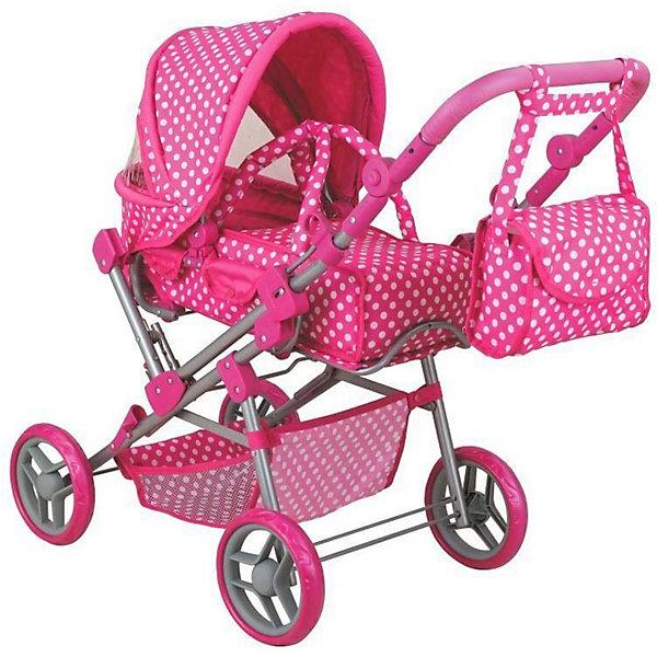 Buggy Boom Коляска для кукол Buggy Boom Infinia трансформер, розовая коляска buggy boom infinia трансформер 8456e 3