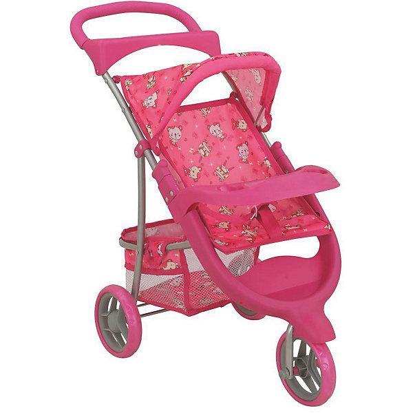 Buggy Boom Коляска для кукол Buggy Boom Nadin трансформер, розовая buggy boom коляска для кукол buggy boom infinia трансформер салатовая