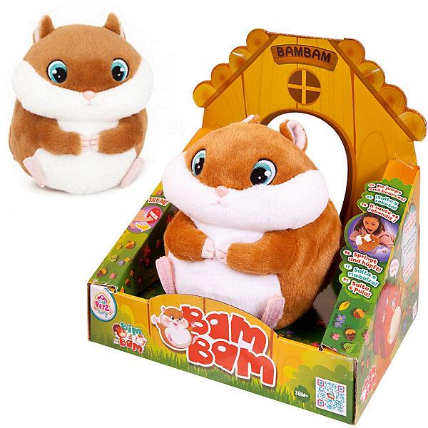 IMC Toys Интерактивная игрушка IMC Toys Хомяк imc toys мягкая игрушка bunnies цвет черный белый 20 см