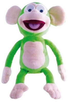 Интерактивная игрушка IMC Toys  Обезьянка Fufris , зеленая, артикул:8882809 - Интерактивные игрушки
