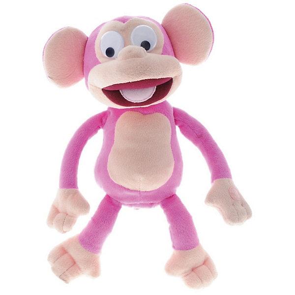 IMC Toys Интерактивная игрушка IMC Toys Обезьянка Fufris, розовая