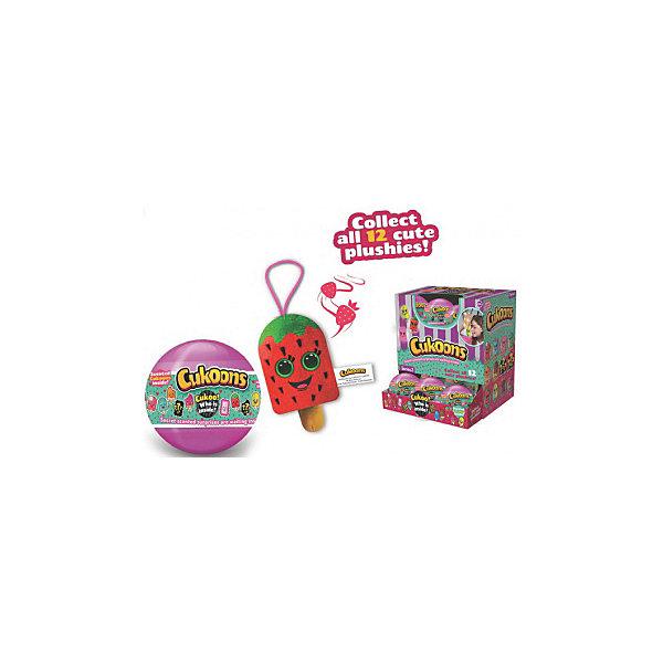 ABtoys Мягкая игрушка ABtoys Cukoons Десерты в шарах, 7 см цена