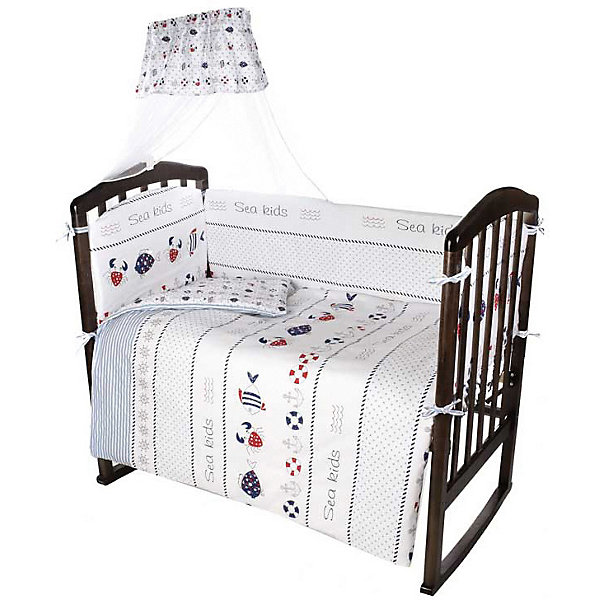 купить Ifratti Комплект в кроватку Ifratti Sea kids, 7 предметов дешево