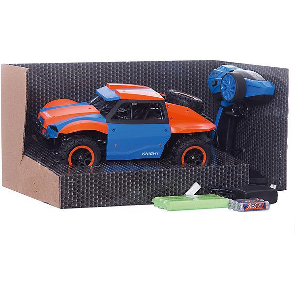 Купить Раллийная машина на р/у 1toy Драйв 1:18, оранжево-голубая, Китай, голубой, Мужской