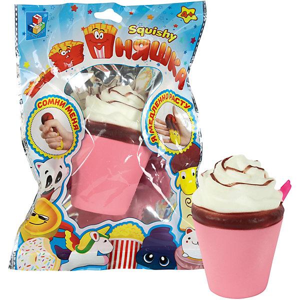 Купить Игрушка-антистресс Мммняшка Молочный коктейль , 1Toy, Китай, разноцветный, Унисекс
