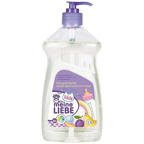 Meine Liebe Гель Meine Liebe для мытья овощей, фруктов, детской посуды и игрушек, концентрат 485 мл. цена и фото