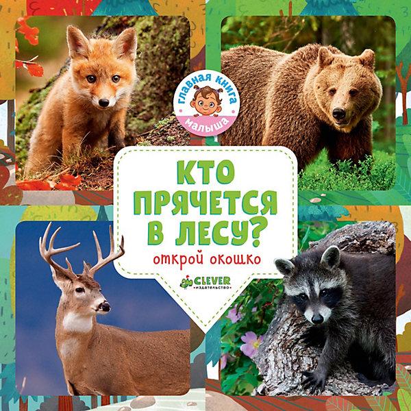 Clever Удивительный мир Кто прячется в лесу?, О. Уткина