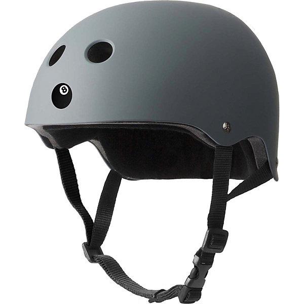 Защитный шлем Eight Ball Gun Matte, серый