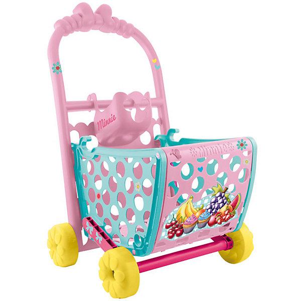 IMC Toys Disney Игровой набор Минни: Тележка с продуктами (49 см, трансформ., аксесс.)