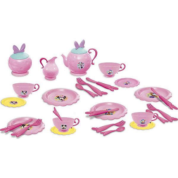 IMC Toys Disney Набор чайной посуды Минни (27 предм.) disney набор чайной посуды королевское чаепитие 14 предм металл принцессы дисней