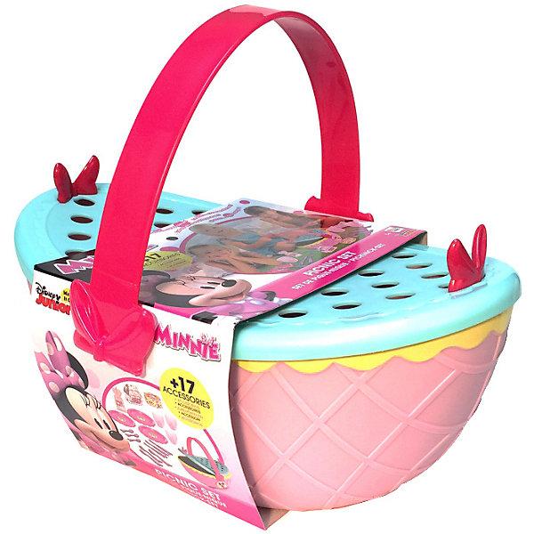 IMC Toys Disney Игровой набор Минни: Набор для пикника (корзинка 25 см, посуда, аксесс.) imc toys disney игровой набор микки и весёлые гонки кемпинг палатка 12 см фиг 8 см аксесс