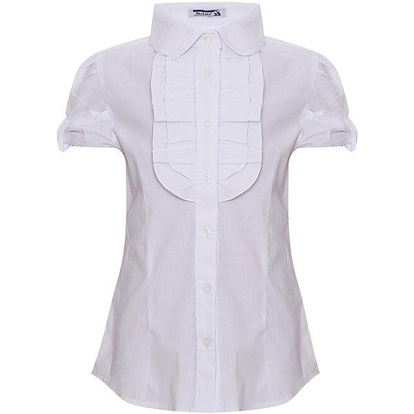 Купить Блуза SKYLAKE для девочки, Россия, белый, 158, 146, 134, 140, 152, Женский