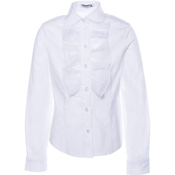 Купить Блуза SKYLAKE для девочки, Россия, белый, 128, 140, 134, 146, 152, Женский