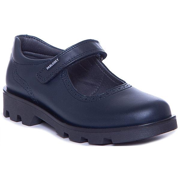 Pablosky Туфли Pablosky для девочки pablosky pablosky туфли для девочек в школу синие