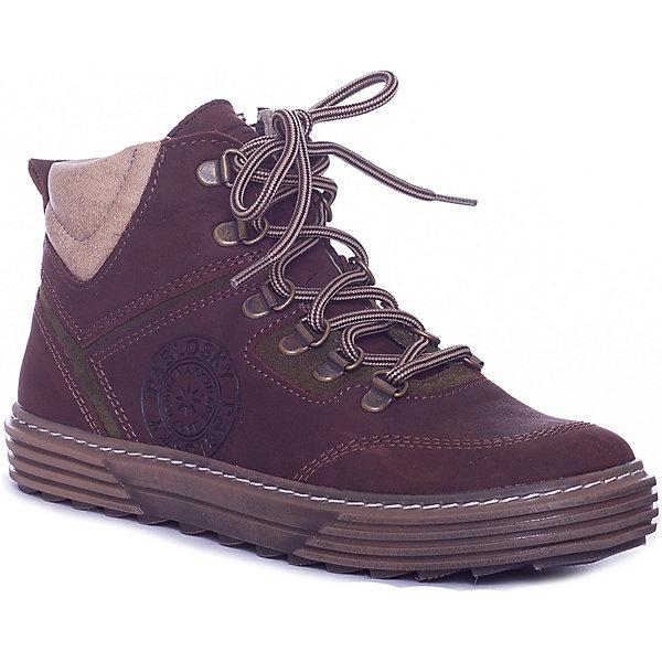 Pablosky Ботинки Pablosky для мальчика детские ботинки с нескользящей подошвой ginoble txg285 2015 286 287 288 289