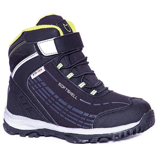 Купить Ботинки Котофей для мальчика, Китай, черный, 36, 34, 32, 37, 35, 33, Мужской