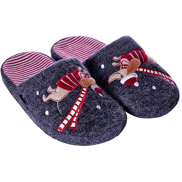 Котофей Тапочки Котофей для девочки текстиль для дома