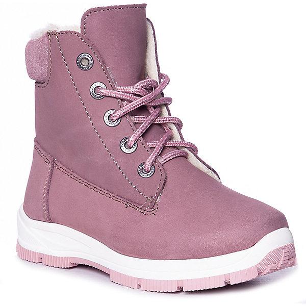 Котофей Ботинки Котофей для девочки ботинки для девочки salomon x ultra цвет розовый l39865100 размер 38 36 5