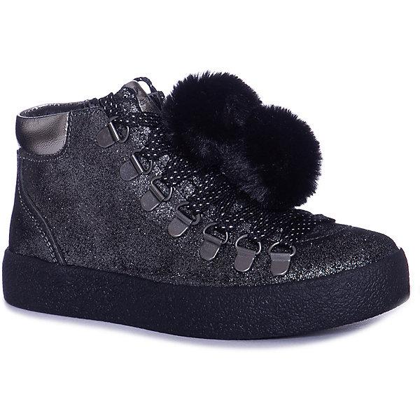 Купить Ботинки CAROLINA Lumberjack для девочки, Индия, черный, 34, 30, 33, 31, 36, 32, 37, 38, 35, Женский