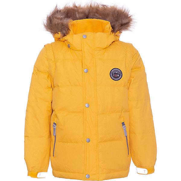 Купить Куртка Ticket To Heaven для мальчика, Китай, желтый, 140, 164, 146, 158, 152, 122, 134, 104, 116, 128, 110, Мужской